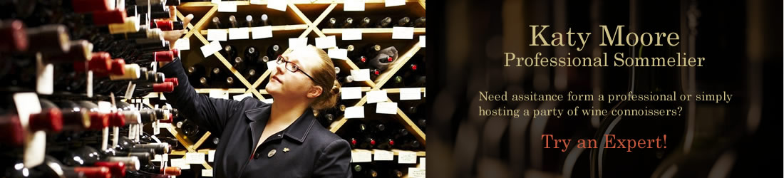 Katy Moore - Professional Sommelier
